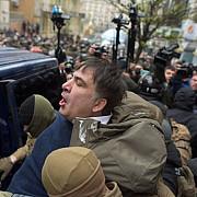 mihail saakasvili arestat din a treia incercare