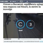 oroare la bucuresti si chelnerita 25 de ani este omorata dupa ce a fost impinsa in fata unui tren scrie presa straina despre crima de la metrou