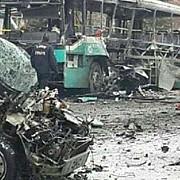 autoritatile irakiene au crescut bilantul la 35 de morti si 61 de raniti dupa un atac cu masina-capcana in bagdad