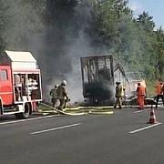 coliziune intre un autocar care a luat foc si un camion in bavaria30 de raniti si 18 persoane date disparute