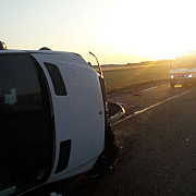 accident rutier pe centura de vest a ploiestiului giratoriul strejnicu foto