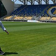 stadionul ilie oana inspectat de uefa in vederea meciului romania kazahstan
