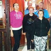 trei turiste au fost salvate de salvamontisti si jandarmi dupa ce au surprinse de furtuna in bucegi