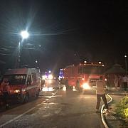 incendiu puternic la balta doamnei trei locuinte afectate foto