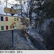 1400 de hectare de padure distruse de incendii in sudul frantei