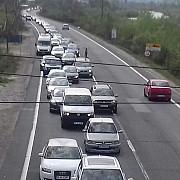 trafic rutier intens pe valea prahovei mai ales intre nistoresti - comarnic si poiana tapului - busteni