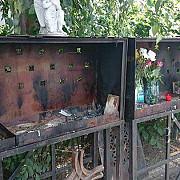 fotografiile victimelor din colectiv au fost furate de la altarul amenajat in fata fostei fabrici pionierul
