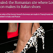 the guardian scrie despre fabrica de la cisnadie unde grupul louis vuitton produce pantofi made in italy