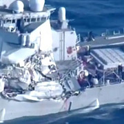 sapte marinari sunt dati disparuti dupa ce distrugatorul american uss fitzgerald si o nava filipineza s-au ciocnit in pacific