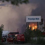 incendiul de la balotesti a fost stins dupa aproape 70 de ore de la izbucnire