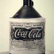 cum arata prima sticla de coca-cola din lume