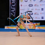 gimnasta denisa stoian reprezinta romania la sofia cup