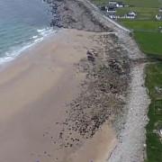 o plaja a reaparut in mod miraculos in irlanda dupa 30 de ani de la disparitie