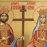 aproximativ doua milioane de romani isi serbeaza onomastica de sf constantin si elena