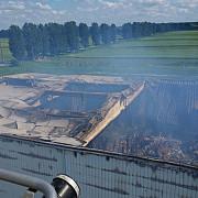 incendiul care a izbucnit la un depozit cu arhive din ilfov nedeclarat stins la peste 60 de ore de la izbucnire