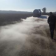 cinci sute de persoane evacuate din cauza pericolului de explozie la o cisterna cu gpl din care s-au scurs gaze