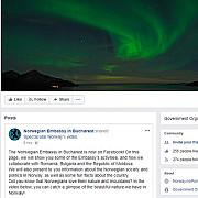 ironii pe facebook intre ambasadele suediei si norvegiei la bucuresti