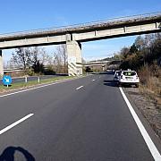 trafic ingreunat pe dn1 o femeie a cazut de pe podul de la campina pe drumul national