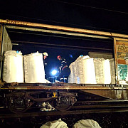 nereguli gasite la trenul care putea exploda in breaza era deosebit de periculos