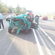 accident pe dn1 la nistoresti cinci persoane ranite motociclist ranit foto