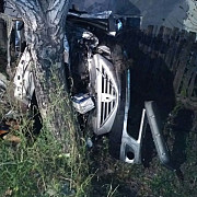 accident grav pe dn 72 un pieton a decedat doua masini avariate