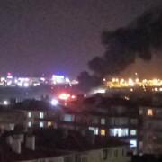 un avion s-a prabusit pe aeroportul ataturk din istanbul aeroportul a fost inchis