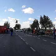 plan rosu de interventie in constanta accident intre un autobuz si un autoturism