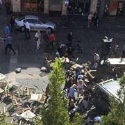germania mai multe persoane au murit si cel putin 30 au fost ranite dupa ce un camion a intrat in multime in orasul munster