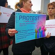 protest al personalului de la institutul pentru boli cardiovasculare c c iliescu din bucuresti