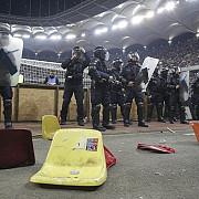 jandarmeria dupa evenimentele de pe arena nationala 77 de amenzi 57 de persoane cu interdictie la evenimente sportive