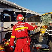 doua autobuze implicate intr-un accident rutier opt persoane au fost ranite a fost activat planul rosu de interventie