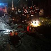 accident groaznic la breaza cinci tineri grav raniti foto