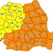 cod portocaliu de ger extrem in aproape toata romania se anunta -22 de grade