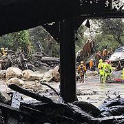 cel putin 13 persoane au murit in california in urma unor alunecari de teren