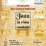jazz in rime romanesti de ziua culturii nationale la filarmonica paul constantinescu ploiesti