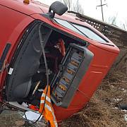 accident grav in ploiesti in zona combinatului teleajen soferul a decedat foto