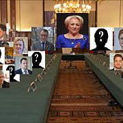 cum va arata noul guvern al romaniei componenta cabinetului dancila votata astazi de coalitia psd-alde