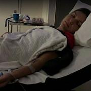 halep internata la spital dupa infrangerea cu wozniacki