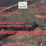 ziua portilor deschise la rezervatia arheologica targsoru vechi