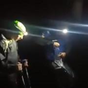 barbat ratacit prin munti salvat de jandarmii montani prahoveni video