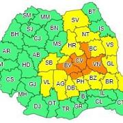 meteorologii au actualizat avertizarile cod galben si portocaliu de vreme instabila ce se intampla in prahova