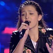interpretarea unei tinere din romania la vocea spaniei junior l-a uluit pe david bisbal esti o minune
