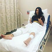 inna a ajuns la spital dupa ce scena pe care canta s-a prabusit in timpul concertului din istanbul