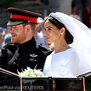 nunta regala printul harry si meghan markle au fost declarati sot si sotie foto video