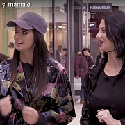 antonia si mama ei la shopping in afi ploiesti video