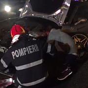 un ferrari de 150000 de euro s-a facut praf pe dn 1 la intrarea in capitala