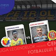 meciul spectacol dintre nationala legendelor si nationala artistilor a fost mutat pe stadionul ilie oana