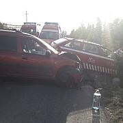 trafic blocat pe dj 102 l la magurele din cauza unui accident