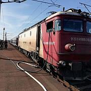 350 de calatori evacuati dintr-un tren in flacari in gara buda