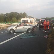 patru persoane ranite intr-un accident pe a3